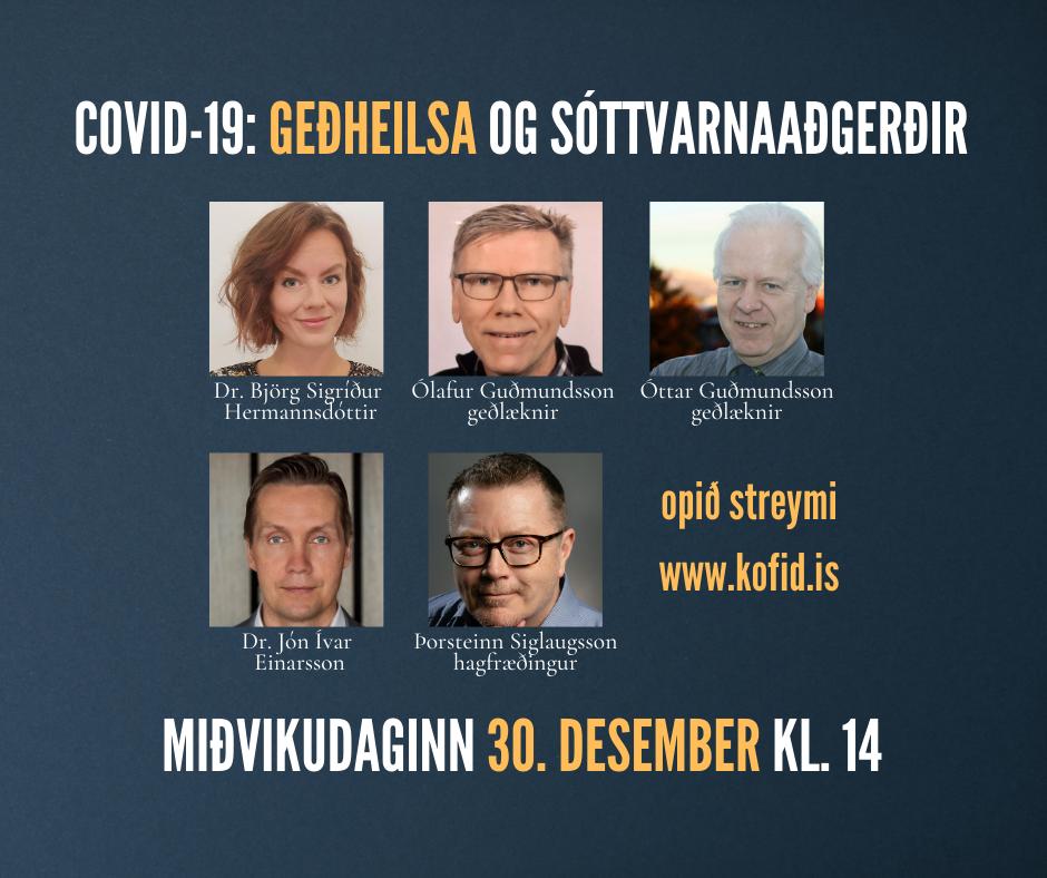 Covid-19 – áhrif á geðheilsu