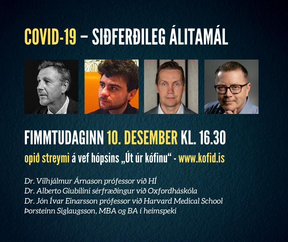 Covid-19 – siðferðileg álitamál